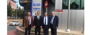 Beltaş A.Ş. Yönetim Kurulu İspark Genel Müdürü Murat Çakır'ı ziyaret etti